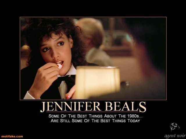 Flashdance Photo The Best About The 80s Flashdance Jennifer Beals Movie Scenes