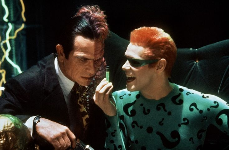 two-face & the riddler from batman forever