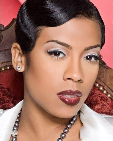 Keyshia-Cole.  I like her with dark hair