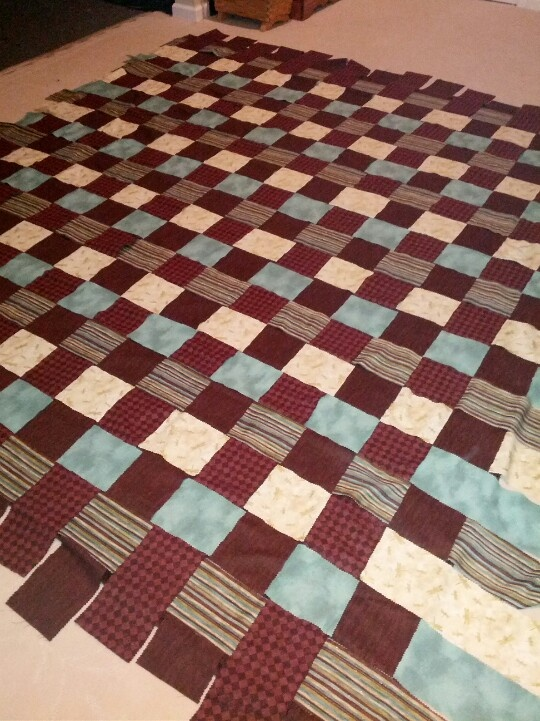 Easy Basket Weave Quilt Pattern : Best images about quilts basket weave on