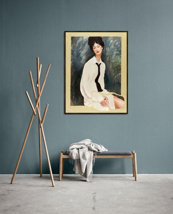© www.lumas.com. Work by Efren Isaza. Objects by Bolia.com.