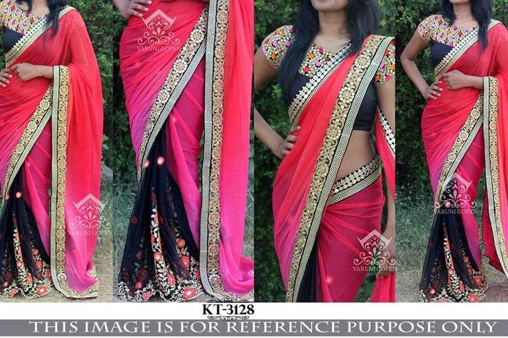 SFH Bollywood Designer Sari Lehenga Party Wear Saree Festival Wedding KT-3128…