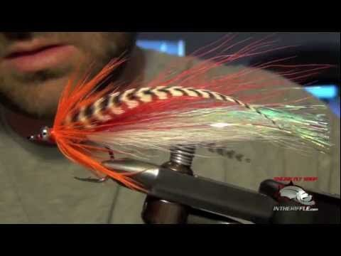 Flashtail Whistler Pike Bass Fly Tying Instructions Directions and How To Tie Tutorial - YouTube
