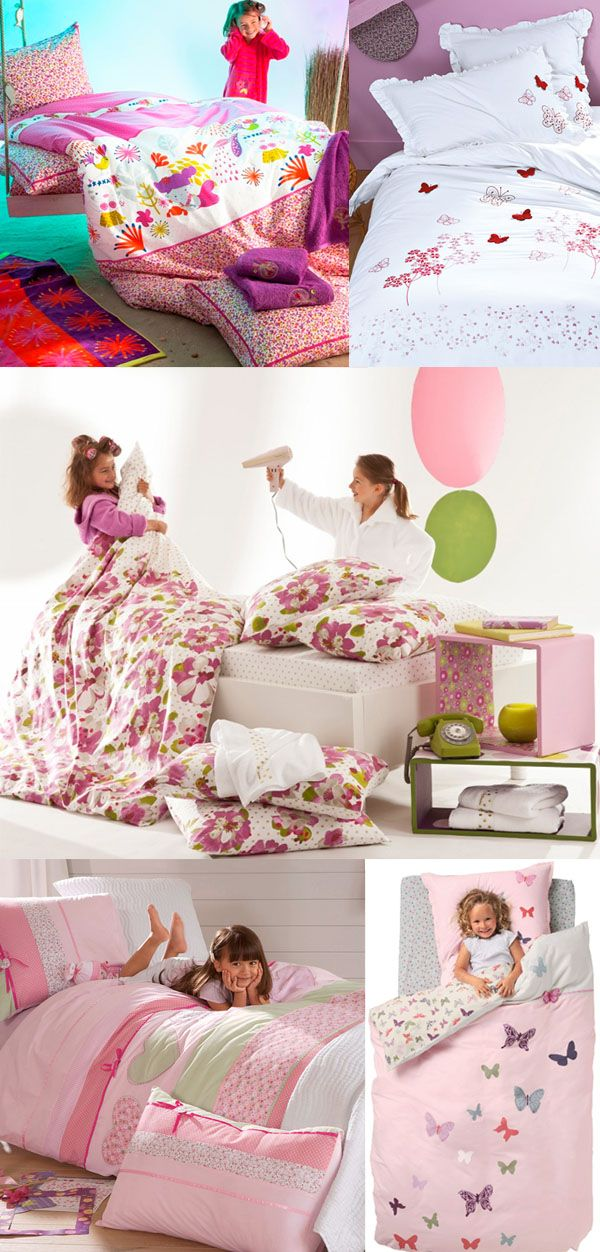 bed girl, lit fille, cama niña