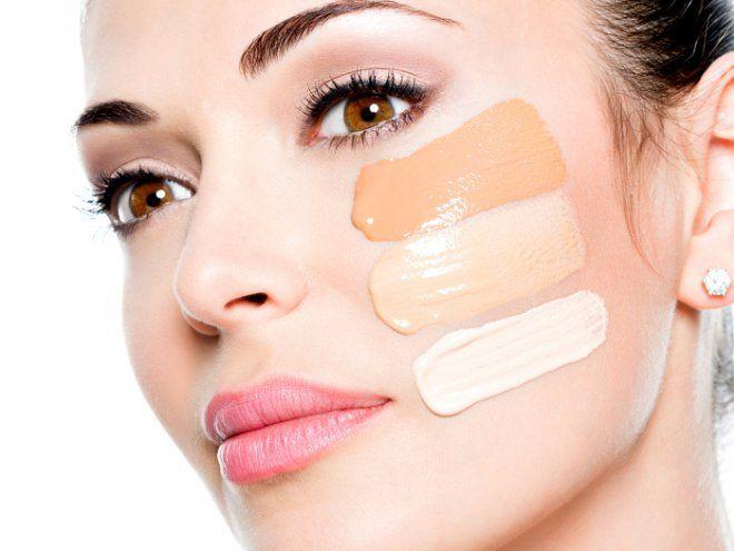 Базовый набор косметики для дневного макияжа на каждый день.