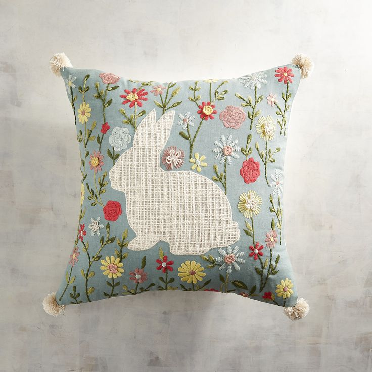 Bunny Silhouette Pillow 200 best Pillows u003e