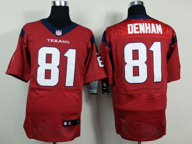 Houston Texans #81 Anthony Denham