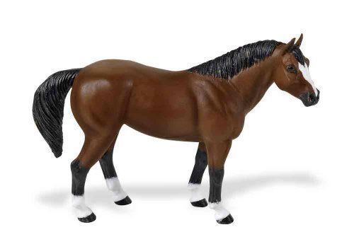 Safari: Quarter Horse by Safari Toys. $3.26. Discover the world of award winning horse collectibles developed for the avid collector. Each replica is carefully sculpted by a leading horse expert and expertly hand painted to ensure breed authenticity. Quarter Horse GeldingPopular for its sprinting ability from a standing start, the Quarter Horse is the supreme mount of the American West. Used for farming, hauling, harness and working cattle, it is the first all-Ame...