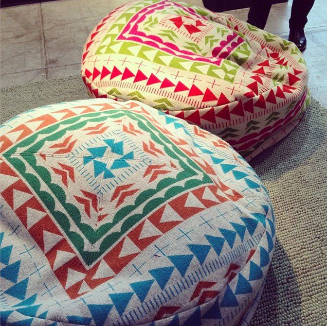 Knit Bean Bag Chairs By Donna Wilson