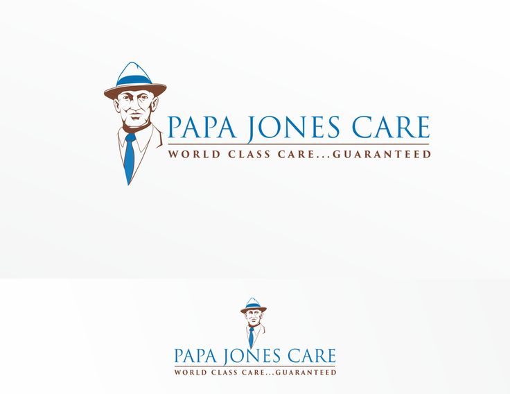"Create ""Papa Jones"" for our in home senior care business called Papa Jones Care. by volcebyyou"