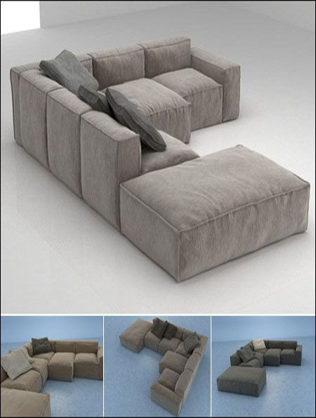 Effective 3D Free models VOL 04 Sofa - Szukaj w Google