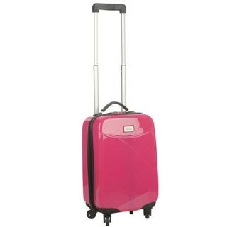 No Fear 4 Wheel 18inch Suitcase £20.00  http://www.mrluggage.com/no-fear-4-wheel-suitcase-pink-708228