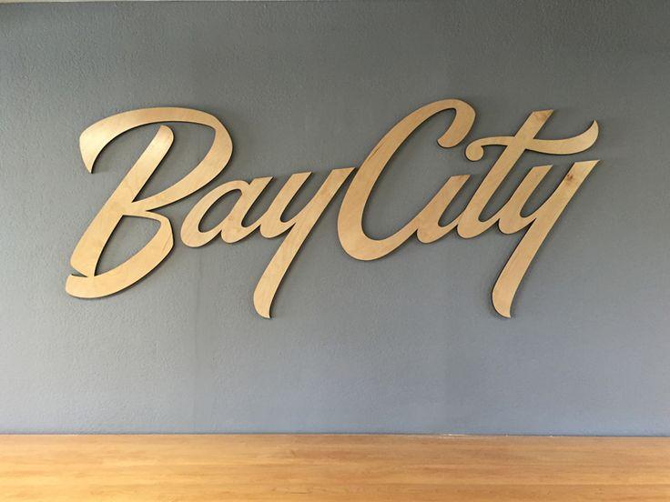Bay City Sign by Neil Secretario