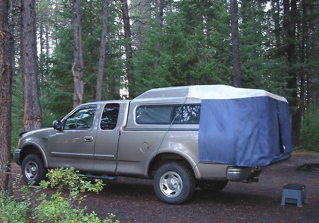 DAC Inc., Camper Top Tents, Full-Size Truck Tent