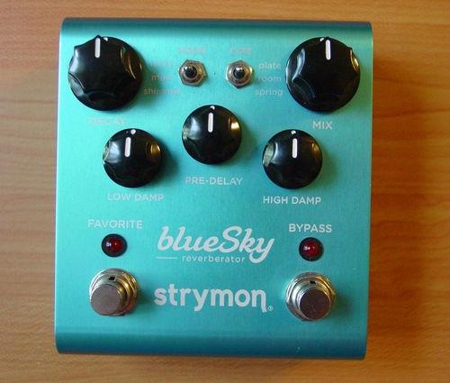strymon blue sky reverb pedal reverbarator ebay guitars gear pinterest sky in my life. Black Bedroom Furniture Sets. Home Design Ideas
