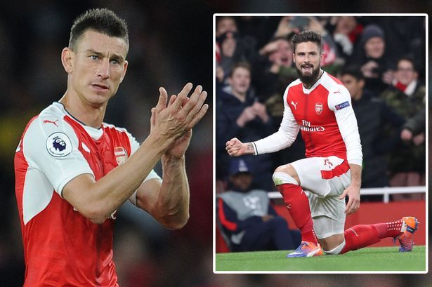 Grit of Arsenal's Olivier Giroud impresses Laurent Koscielny as their club suffers another tough November #arsenal #olivier #giroud…