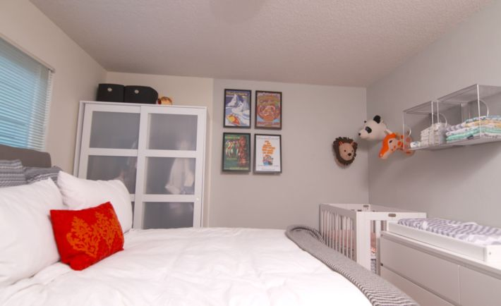 Project Nursery - Nursery Nook in Master Bedroom