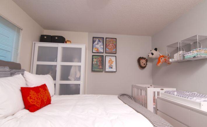 Project Nursery - Nursery Nook in Master Bedroom