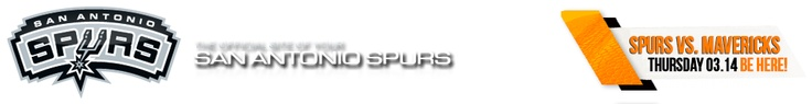 SPURS: 2012-13 SPURS SCHEDULE