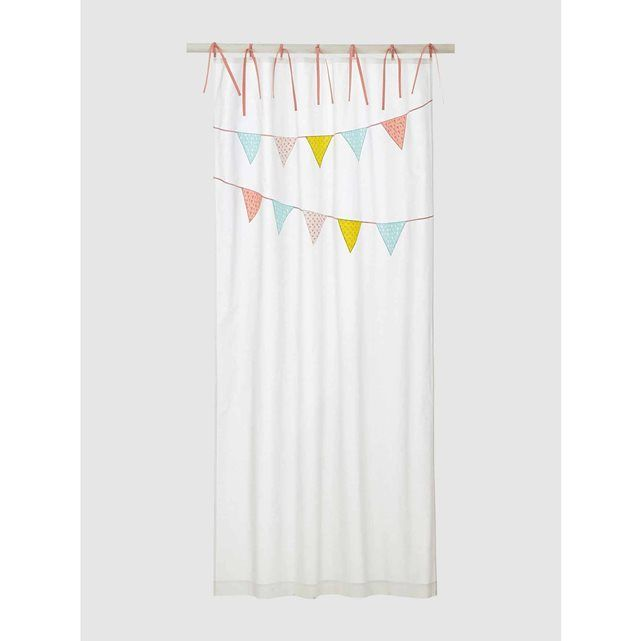 Perfect Curtain VERTBAUDET price reviews and rating delivery Appliqu d and embroidered pennant