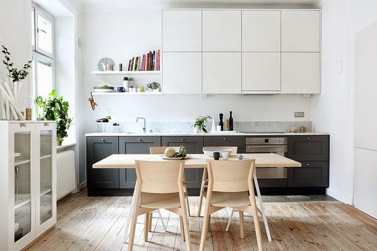 Cocina abierta al salón: sencilla y preciosa | Decorar tu casa es facilisimo.com