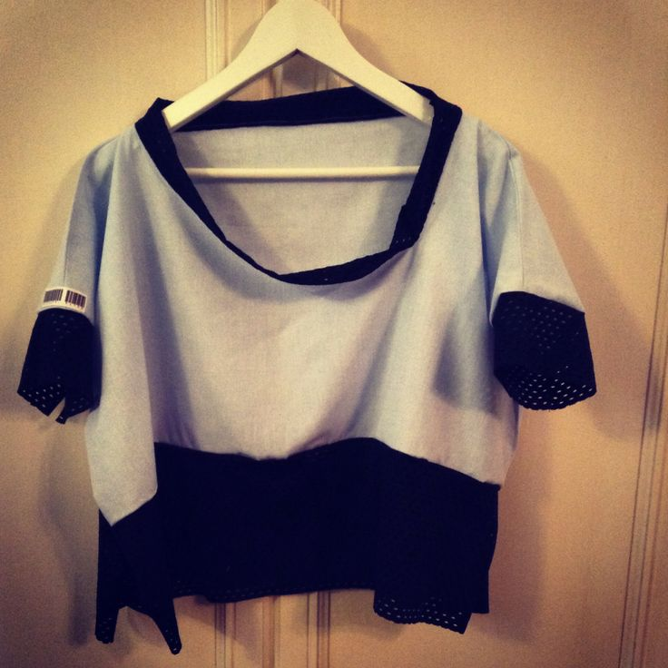T.shirt rectangle Cotton and jersey
