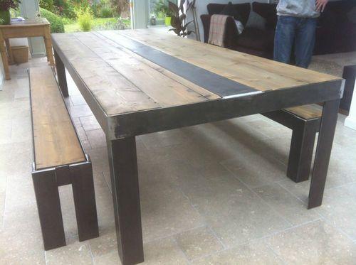 Best 25 Industrial Dining Tables ideas on Pinterest  : 878b7e0d1560437fc49d48d0e63b0b87 dining table bench industrial dining tables from www.pinterest.com size 500 x 373 jpeg 28kB