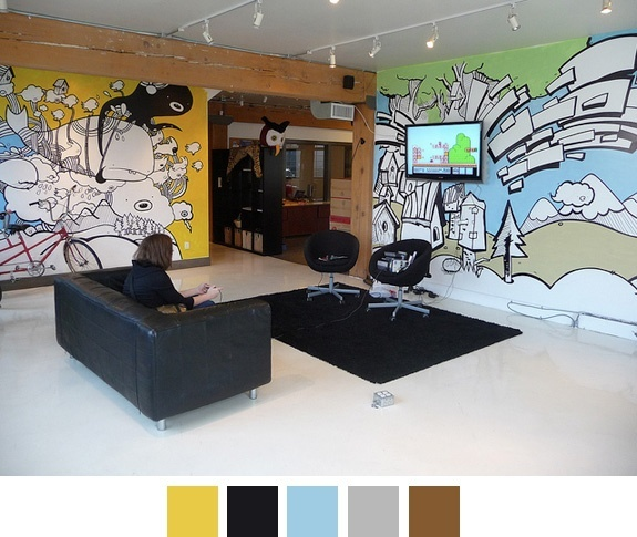 Hootsuites offices home inspiration pinterest for Zynga office design