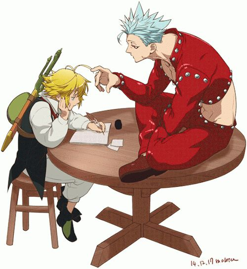 the seven deadly sins meliodas and elizabeth - Google Search