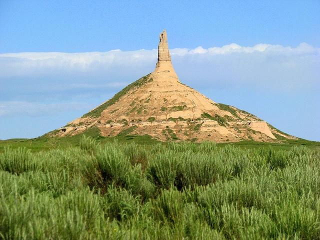 Castle Rock In Nebraska As Seen From The Interstate Western Nebraska Oregon Trail Vacation Days