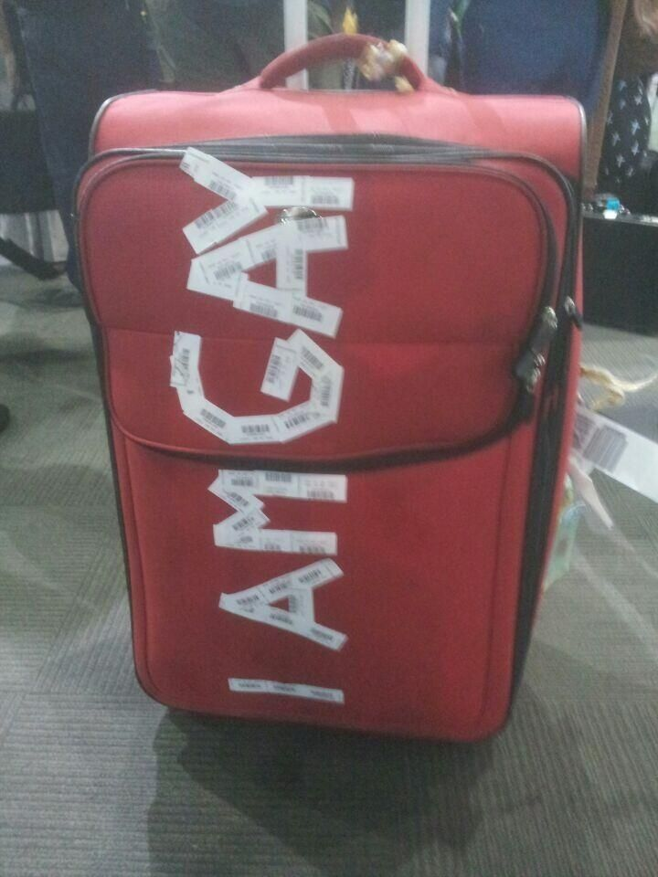 Jetstar Airways Investigating After Man's Luggage Is Plastered With 'I Am Gay' At Airport