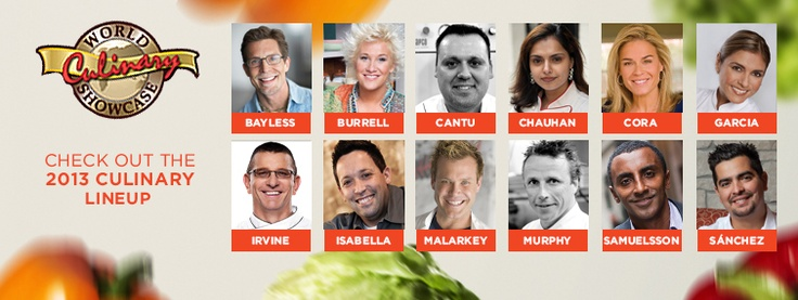 World Culinary Showcase Chef Line-Up at NRA Show 2013