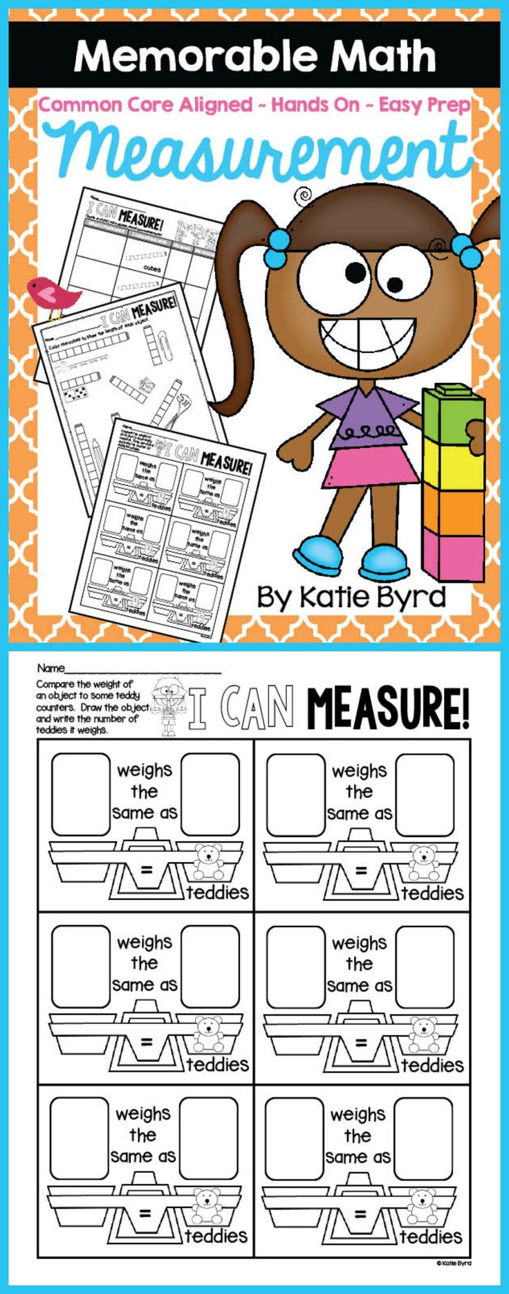 25 best ideas about measurement activities on pinterest measurement kindergarten math. Black Bedroom Furniture Sets. Home Design Ideas