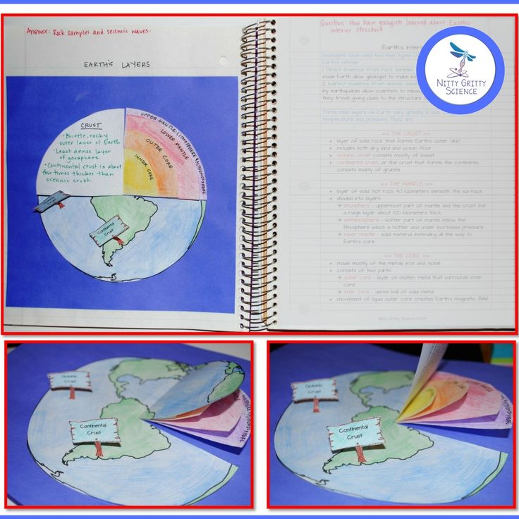 Plate Tectonics: Earth Science Interactive Notebook includes the following concepts:•	Earth's Interior•	Convection and the Mantle•	Continental Drift and Sea-floor Spreading•	Theory of Plate Tectonics