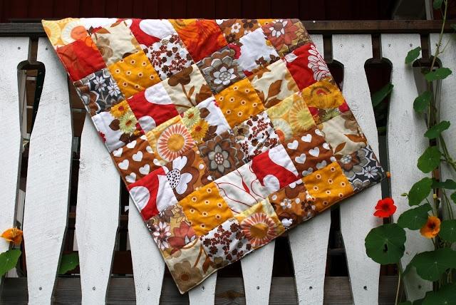Tyg och otyg.: The autumn baby quilt