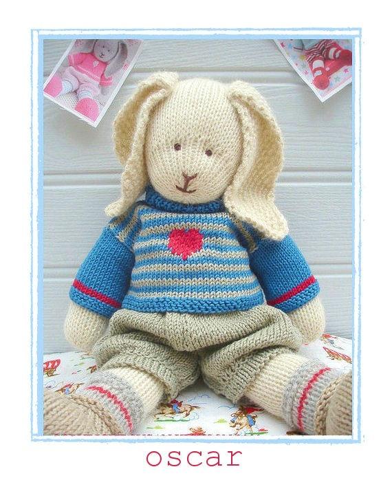 Mary Jane Tea Room Bear Knitting Pattern
