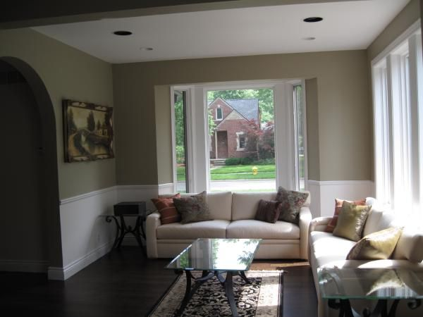 Rooms Painted With Sag Harbor Gray