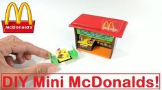 DIY Miniature McDonalds Restaurant & Mini Food! - YouTube