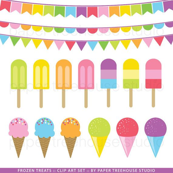clip art ice cream party - photo #46