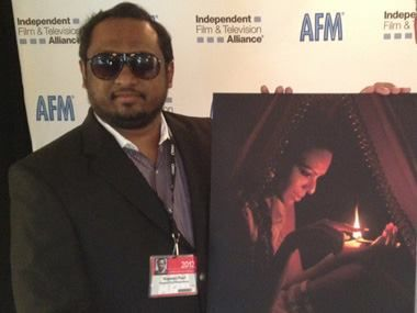"""Director RupeshPaul said on the poster launch of kamasutra3d: """"I am glad to have Sherlyn on board."""