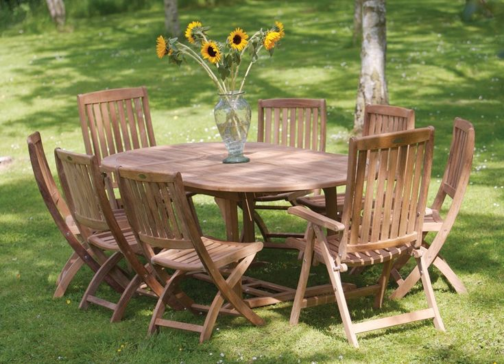 Bramblecrest Chesterton Oval 6 Seat Set Available To Buy Online From Garden  Furniture World. We Sell A Large Range Of Garden Furniture From The Best ...