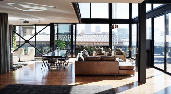 Modern Joburg Penthouse   House and Leisure
