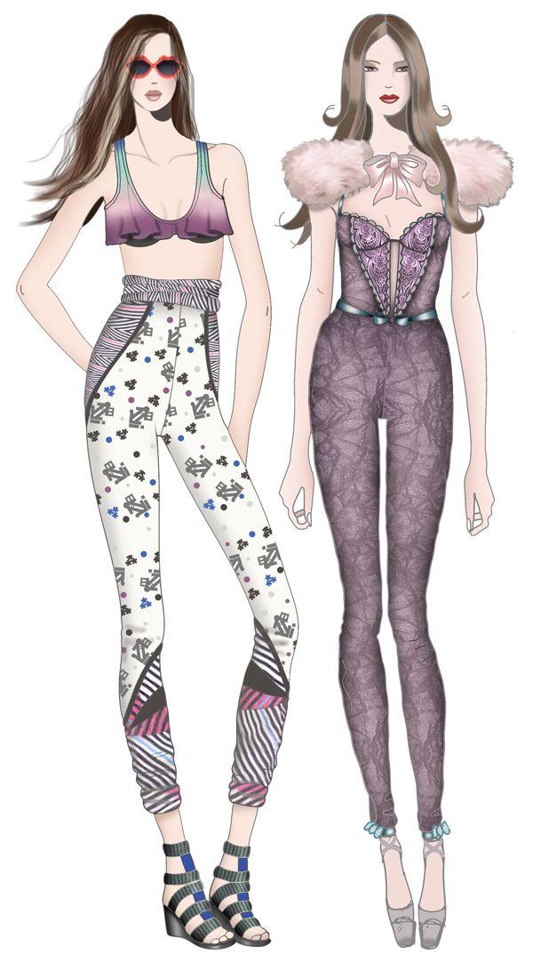fashionillustr.quenalbertini: JAA Design Original Fashion Illustr.