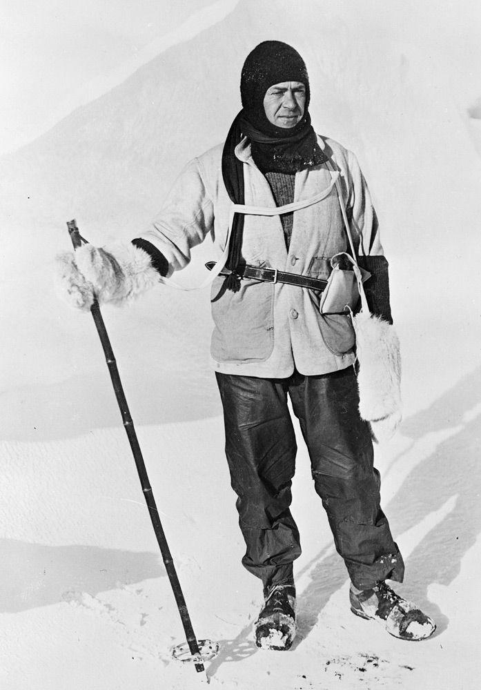 The Race to the South Pole - Roald Amundsen and Robert Scott 1911-1912