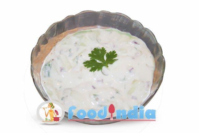 Cucumber Raita Recipe | Delicious Cucumber and Yogurt Salad Recipe :: Indian Food Recipe Tips