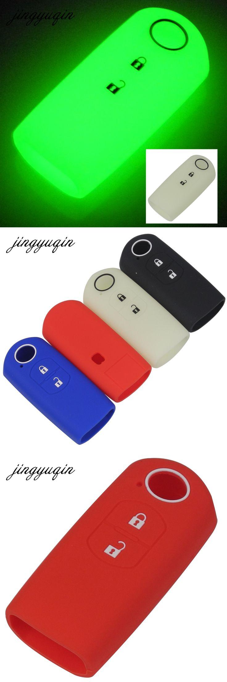 jingyuqin Silicone Car Key Cover Case Car Styling For Mazda For Mazda CX-5 /CX5 Axela / Mazda 6 Atenza CX-7 CX-9 MX5