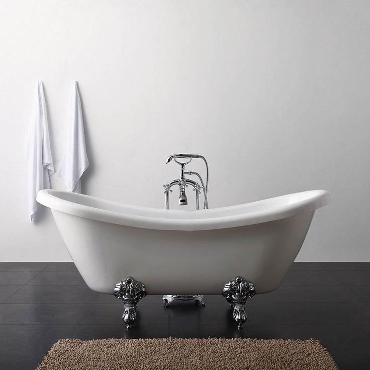 Badekar Bathlife Ideal Like  - Badekar med løveføtter - Badekar - Bygghjemme.no