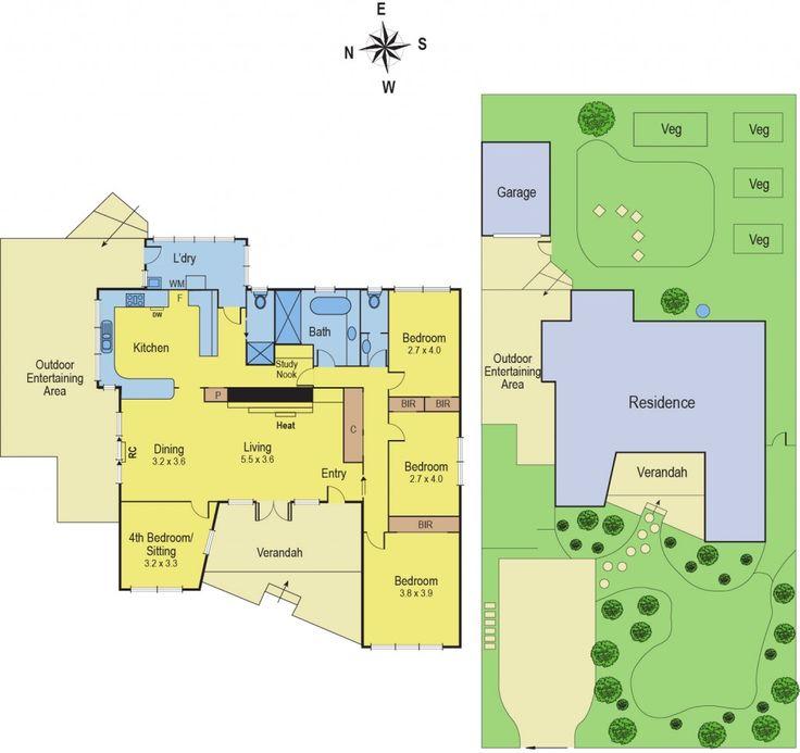 13 Hill Street, Belmont, Vic 3216 - floorplan