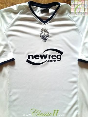 Relive Preston North End's 2002/2003 season with this original VOI Active home football shirt.