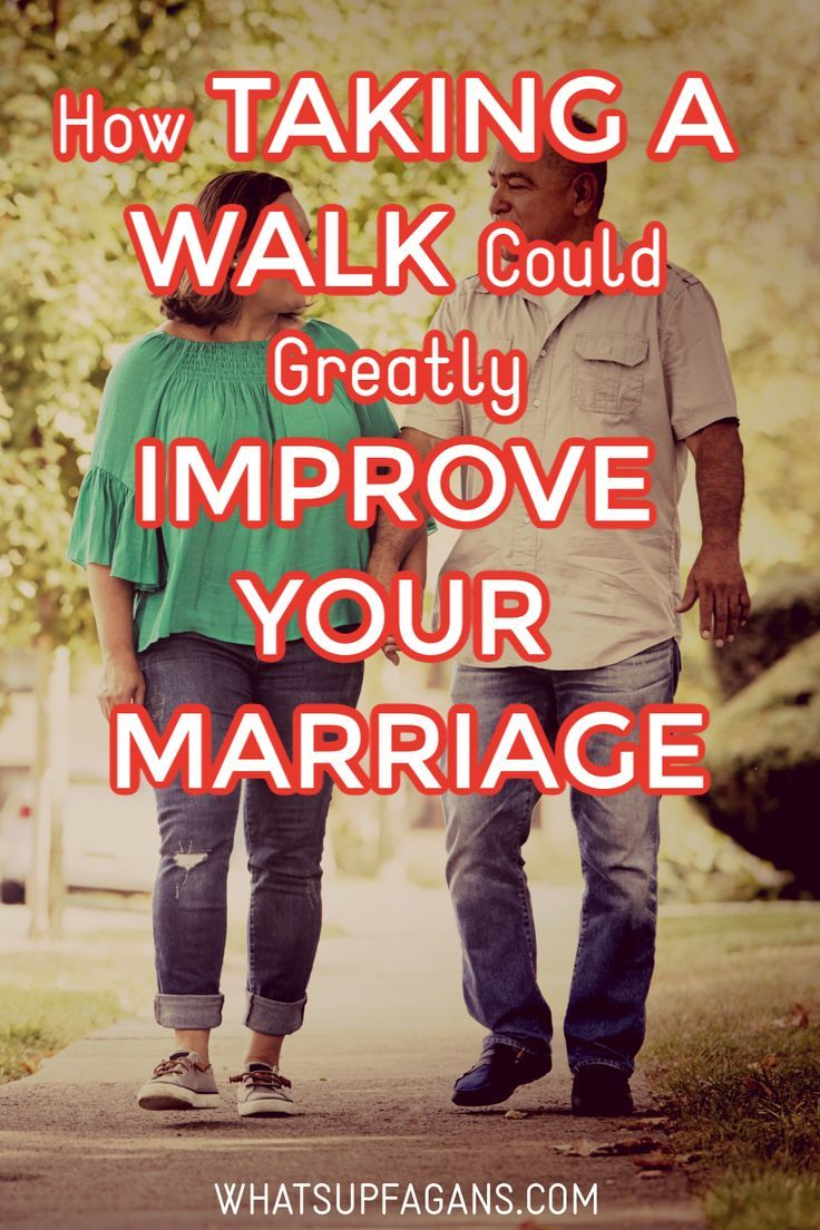 How taking a walk could improve your marriage in 2020